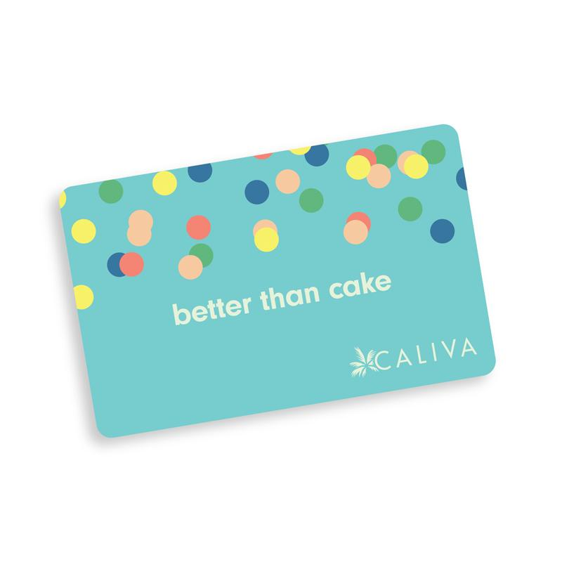 $25 Caliva Gift Card - Better Than Cake