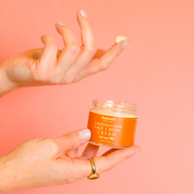 Calendula Rose Face + Body Cream