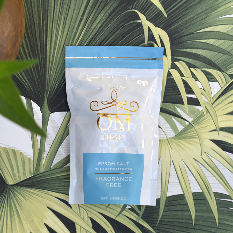 CBD Epsom Salt - Fragrance Free