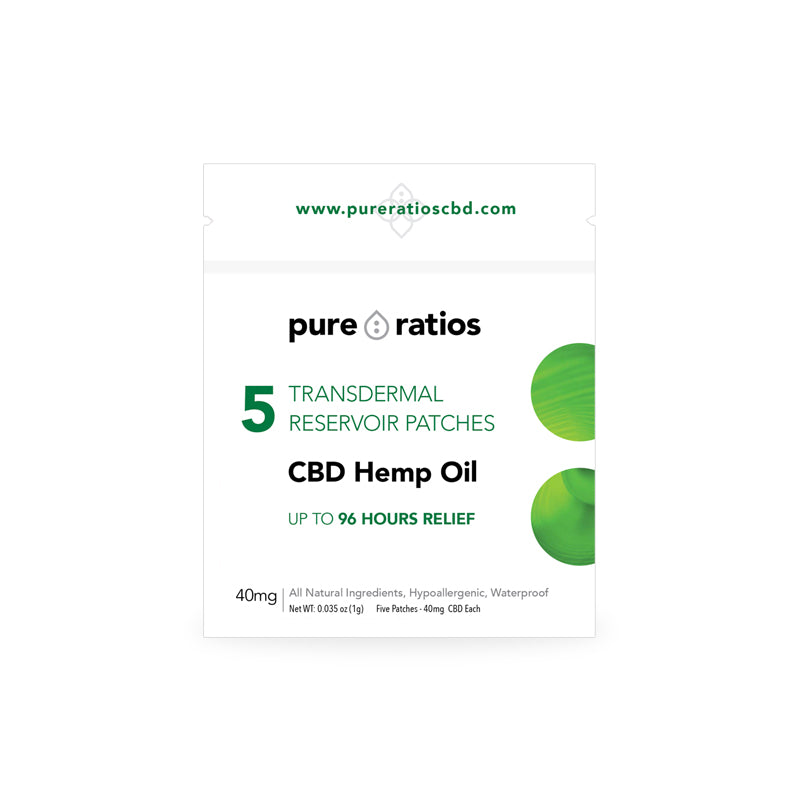 CBD Hemp Patch - 5 Pack