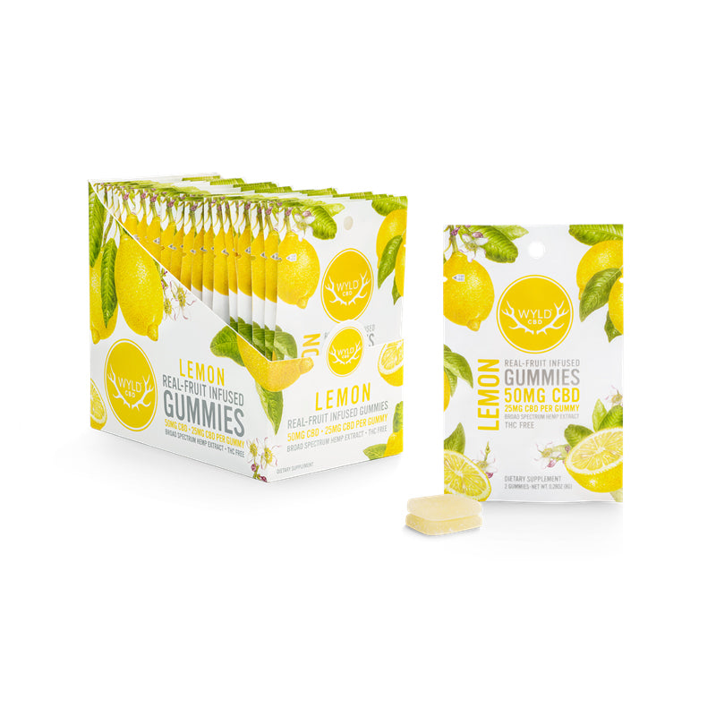 CBD Gummies – Lemon (50mg)