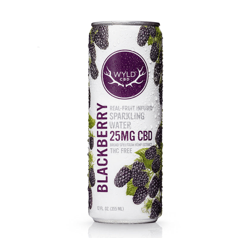 CBD Sparkling Water – Blackberry