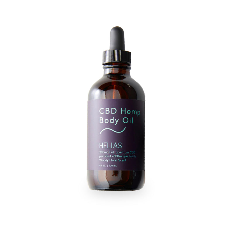 CBD Hemp Body Oil