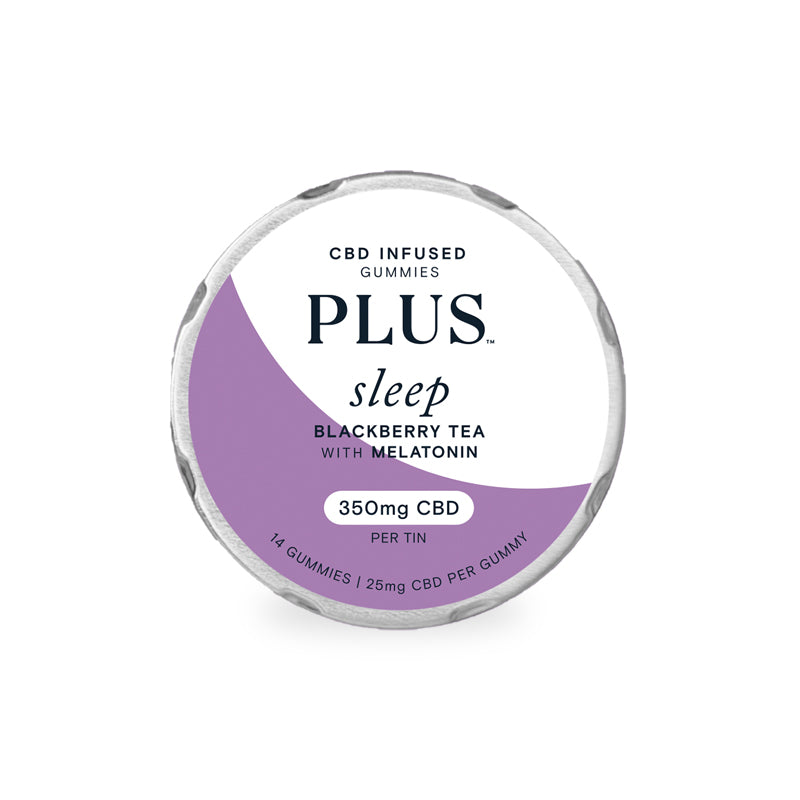 CBD Gummies - Sleep Blackberry Tea