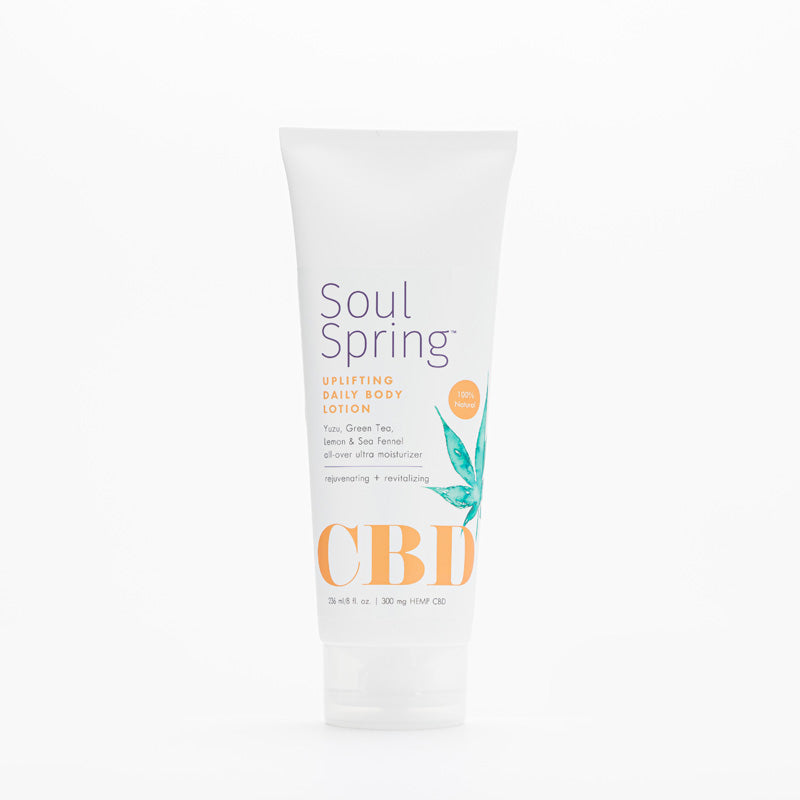 Uplifting CBD Daily Body Lotion