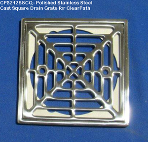 ClearPath Shower System 6' With Drain Base And Drain Grate Kit