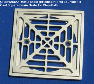 ClearPath Shower System 3' x 6' With Drain Base And Drain Grate Kit