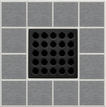 Load image into Gallery viewer, Ebbe E4411 Matte Black Square Shower Drain