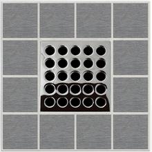 Load image into Gallery viewer, Ebbe E4401 Polished Chrome Square Shower Drain