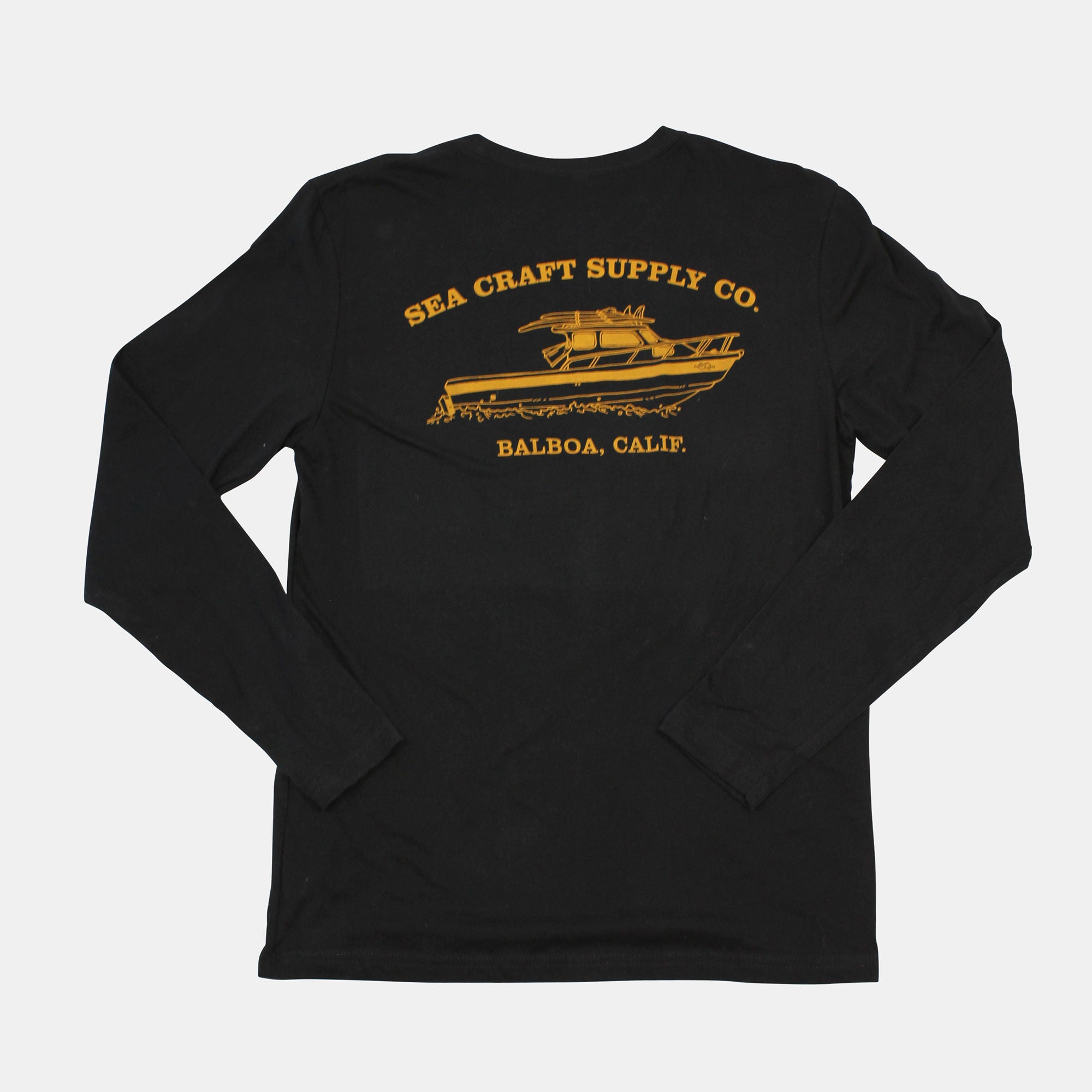 Sea Craft Supply Co. Boat Tee - Long Sleeve