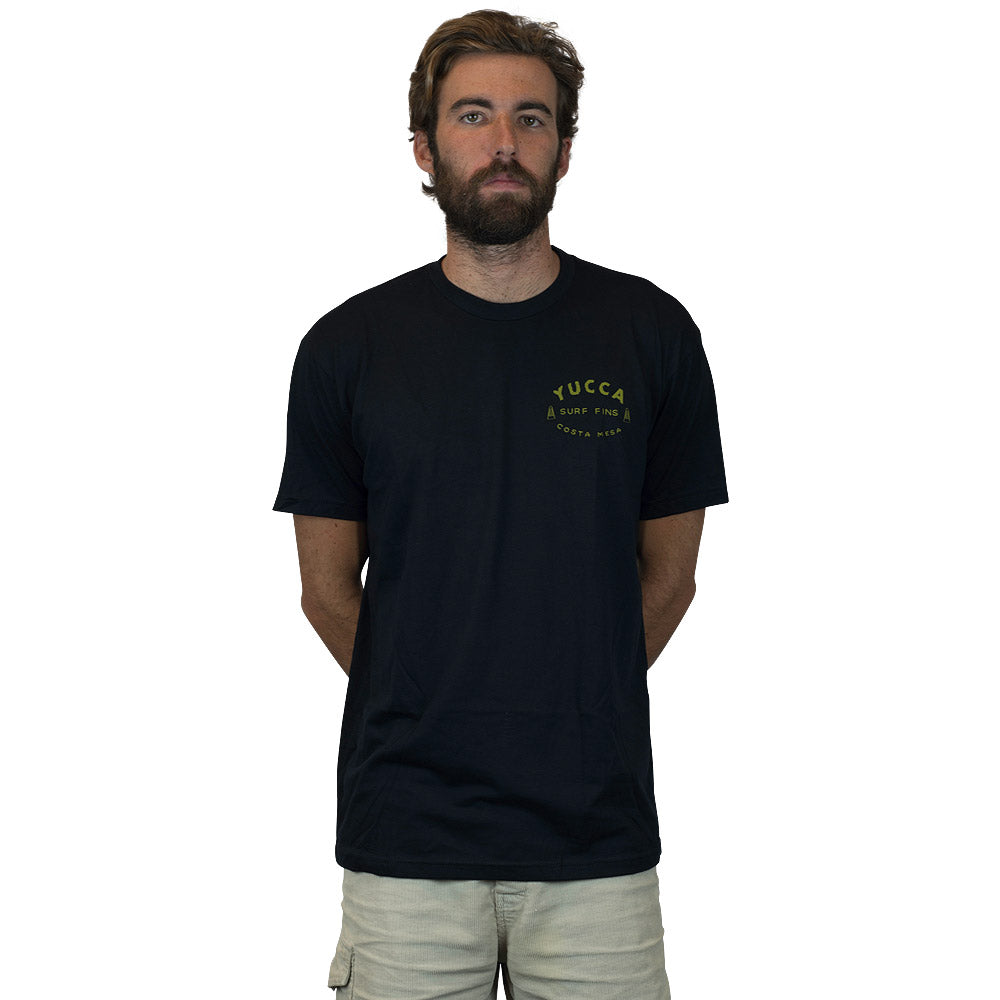 YUCCA FINS Original  - Ultra soft blend - Plant Tee Black