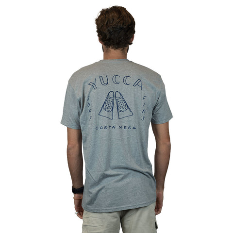YUCCA FINS - Fins Outline  - Ultra soft blend - Gray