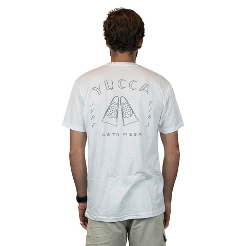 YUCCA FINS - Fins Outline  - Ultra soft blend - White