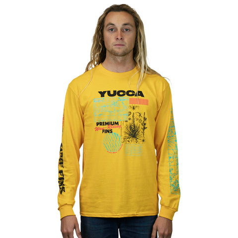 Yucca Fins - Surface Long Sleeve Gold