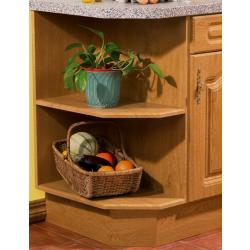 Bella Base End Shelf Unit (Unassembled) - The Kitchen Door Site