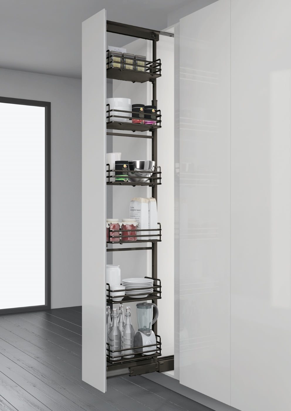 Elite Tall Larder Pull Out Unit
