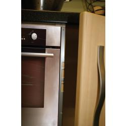 Pair of Heat Deflectors - The Kitchen Door Site