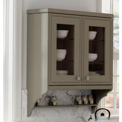 Bella T&G Scroll End Panel (excludes shelf) - The Kitchen Door Site