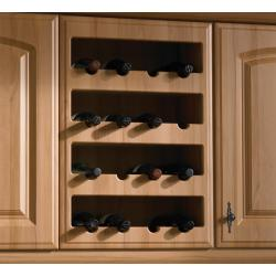 Bella Plain Wine Rack Front - The Kitchen Door Site