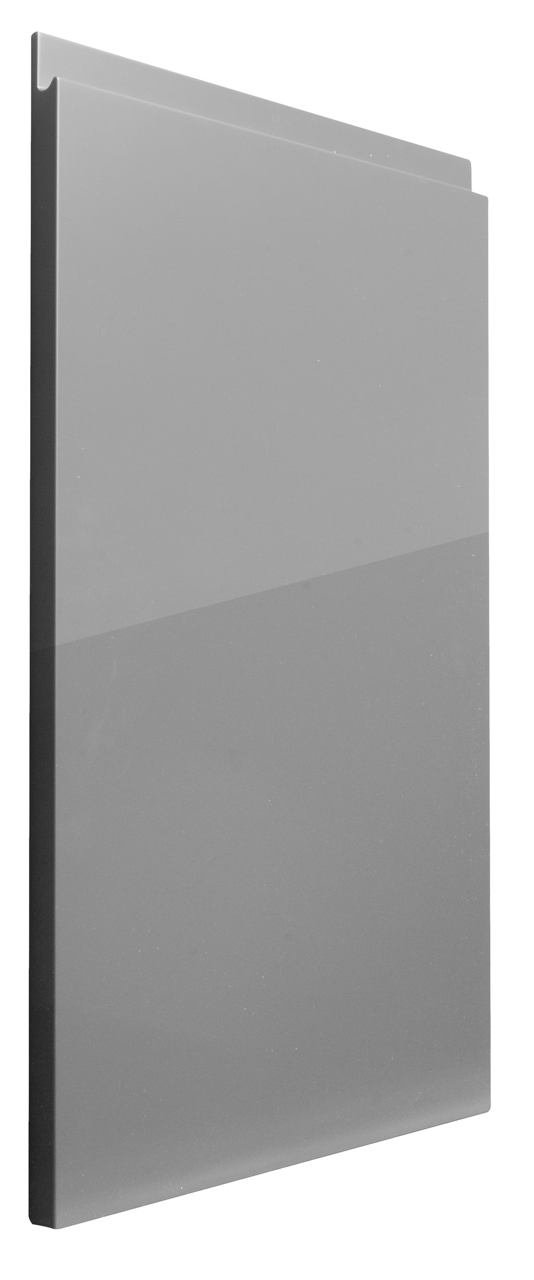 Second Nature Remo Gloss Silver Grey - The Kitchen Door Site