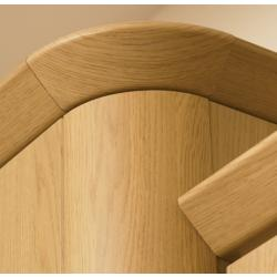 Bella Radius Cornice Piece (Tangent) - The Kitchen Door Site
