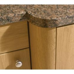 Bella Radius Rail - The Kitchen Door Site
