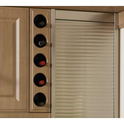 Bella Round Wine Rack Front - The Kitchen Door Site