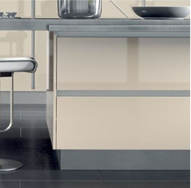Bella Aluminium Plinth - The Kitchen Door Site
