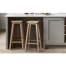Breakfast Bar Panel (Vertical Grain) - The Kitchen Door Site