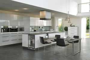 Pronto Firbeck Supergloss Light Grey - The Kitchen Door Site
