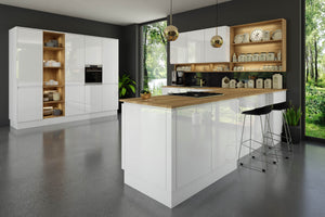 Pronto Jayline Supergloss White - The Kitchen Door Site