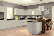 Load image into Gallery viewer, Pronto Lacarre Gloss Light Grey - The Kitchen Door Site