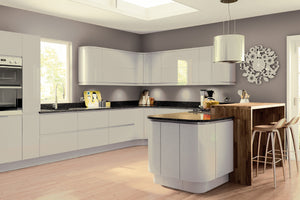 Pronto Lacarre Gloss Light Grey - The Kitchen Door Site