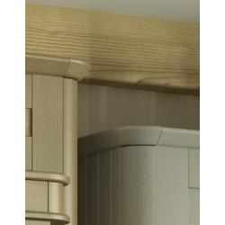 Radius Cornice Piece - The Kitchen Door Site