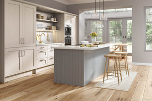 Pronto Wilton Oakgrain Dust Grey - The Kitchen Door Site