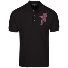 Load image into Gallery viewer, H Logo Cotton Pique Knit Polo