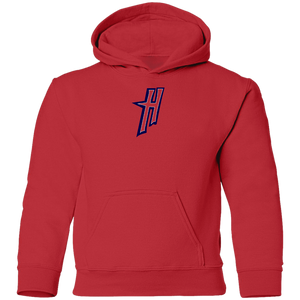 Mini H Logo (red/blue) Youth Pullover Hoodie