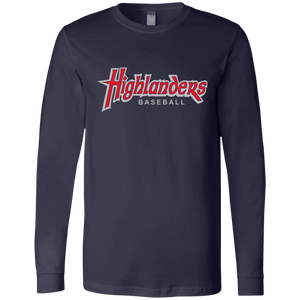 Highlanders WM (red) Men's Jersey LS T-Shirt