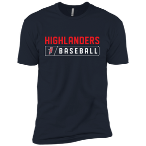 Highlanders Bar Logo (red)  Youth' Cotton T-Shirt