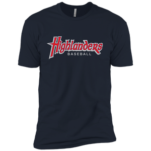 Highlanders Baseball WM (red)  Boys' Cotton T-Shirt