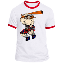 Load image into Gallery viewer, Highlander Graphic Logo Ringer Tee
