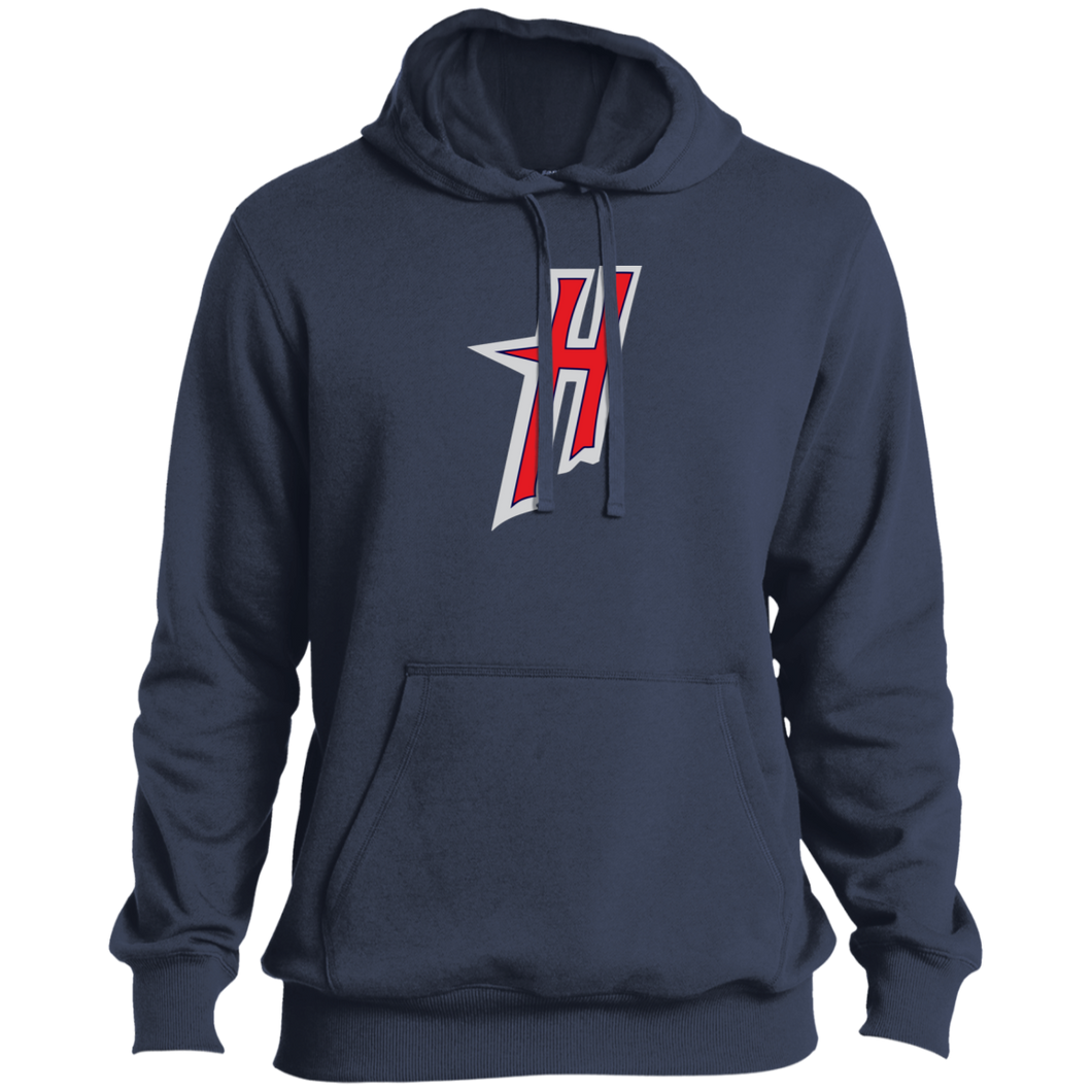 H Logo (red) Men's Performance Tall Pullover Hoodie