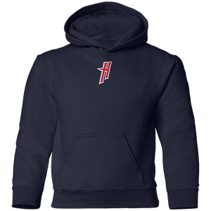 Mini H Logo (red) Youth Pullover Hoodie
