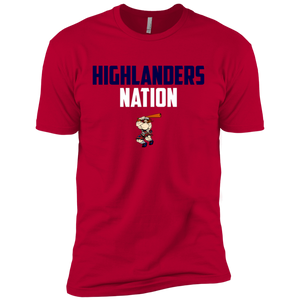 Highlanders Nation Boys' Cotton T-Shirt