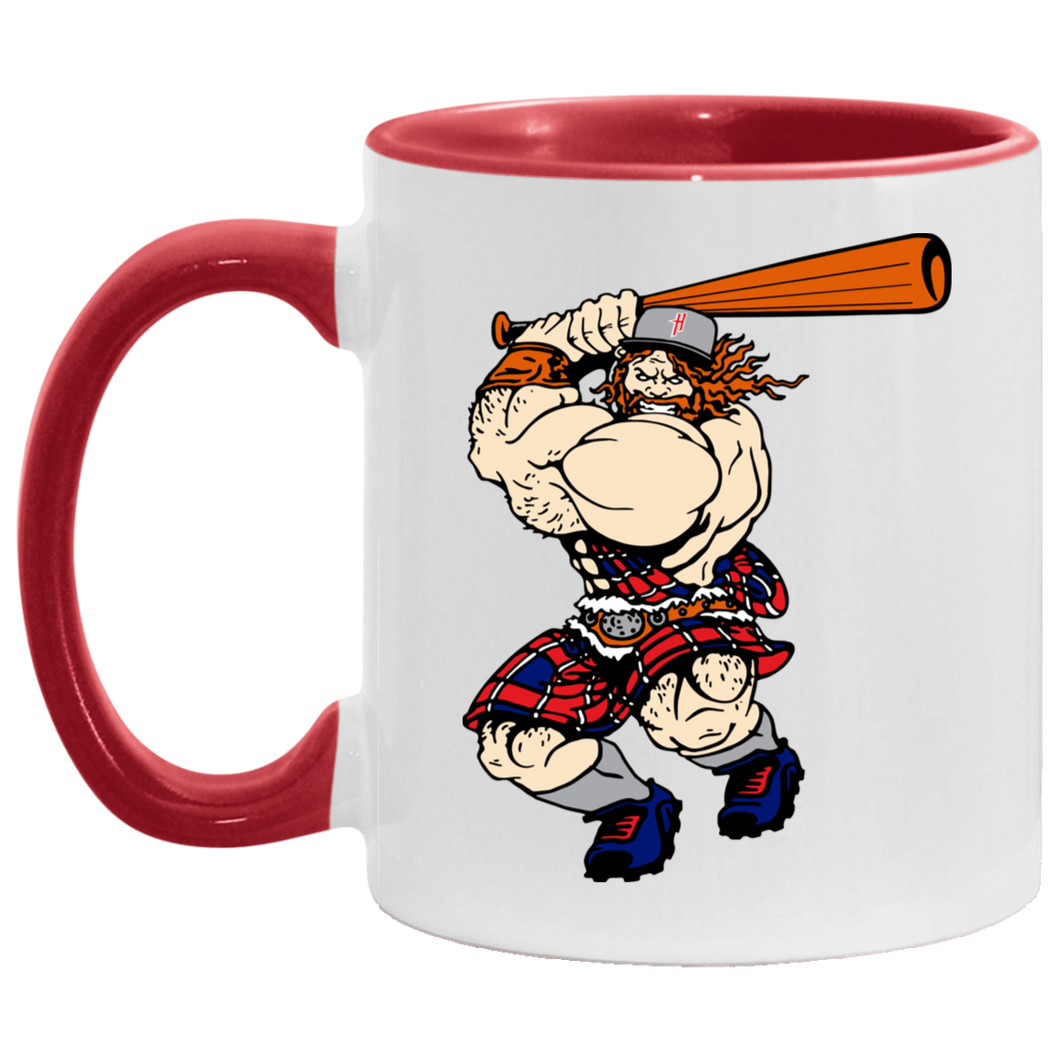 Highlanders Graphic Logo Accent Mug