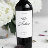Wedding Invitation Collection Wine Bottle Stickers