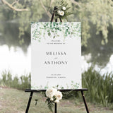 Rustic Eucalyptus Wedding Sign