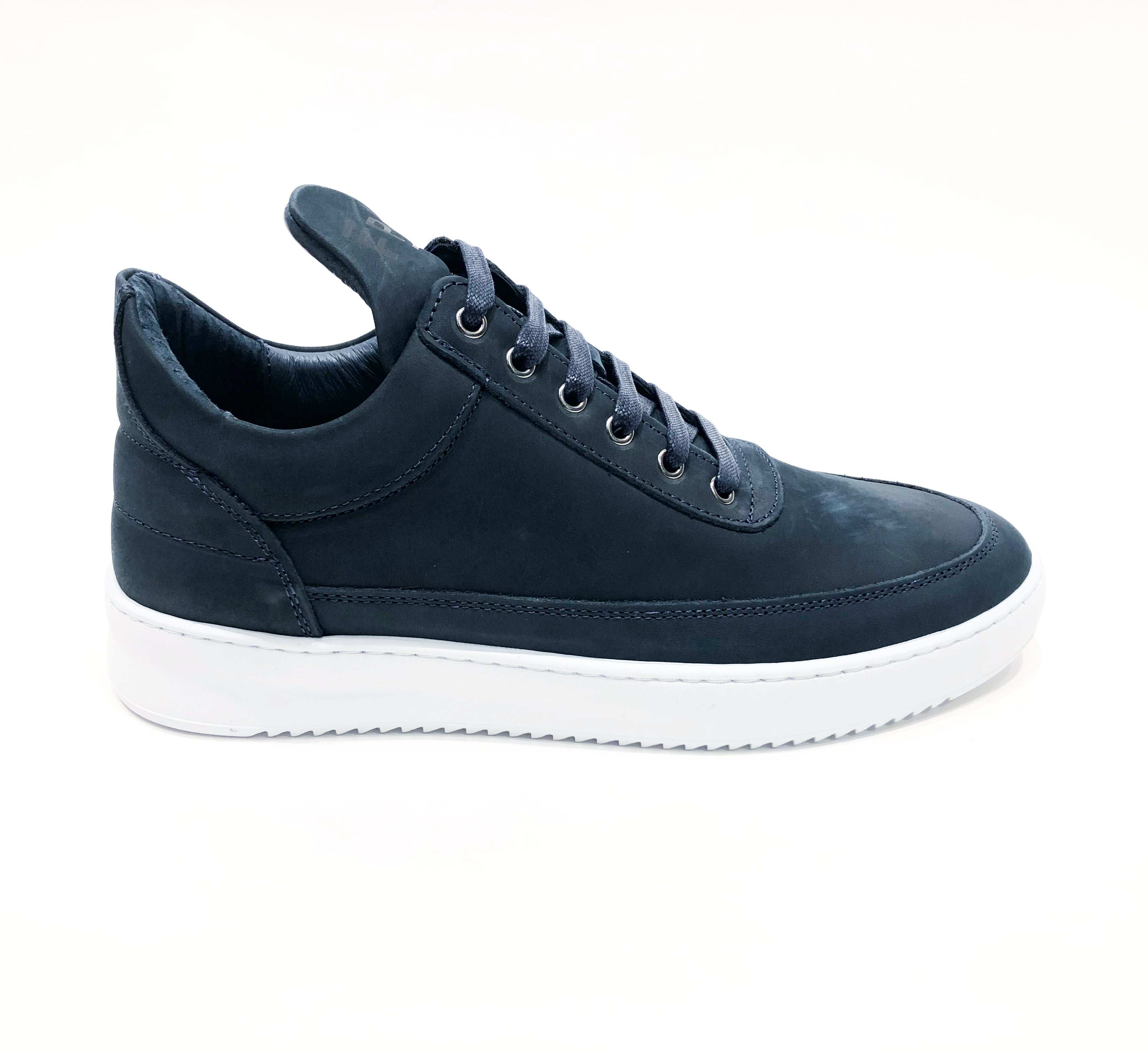 Filling Pieces - Low Top Ripple Nubuck Marine
