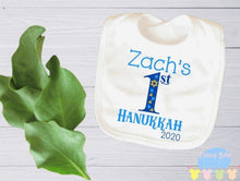 Load image into Gallery viewer, Boy's 1st Hanukkah Baby Onesie / Bib / Toddler T Shirt - Cutesy Baby Boutique