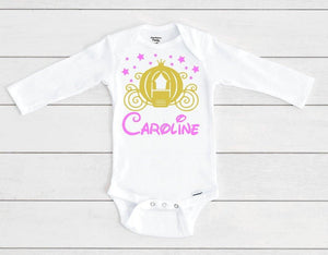 Cinderella's Enchanted Carriage Baby Onesie® / Bib / Toddler T-Shirt - Cutesy Baby Boutique